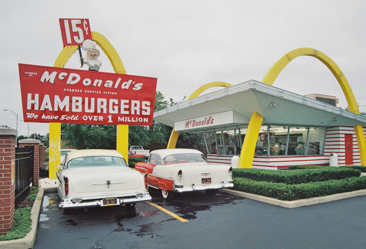 McDonald's:  Exception to the Rule in Fast-Food Sales