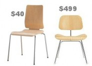 Chairs. Ikea Vs. Design Within Reach