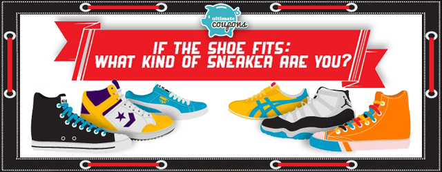 If The Shoe Fits: What Kind of Sneaker Are You? [Infographic]
