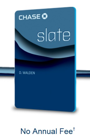 Benefits slate card credit chase