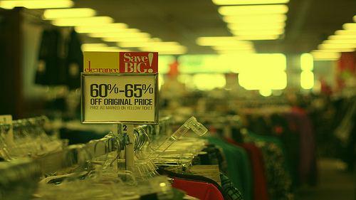 clearance clothing rack