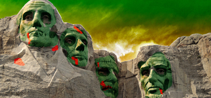 Dead, Fright and BOO: America's Greatest Zombie Presidents