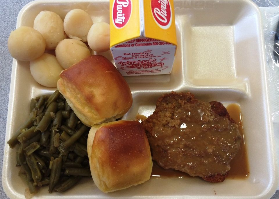 Unhealthy Food Plate The 10 Grossest School...